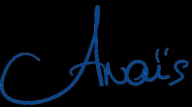Signature Anaïs Weibel
